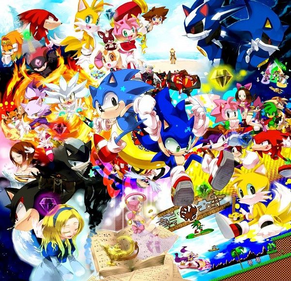 ~Sonic the Hedgehog characters~ This is so COOL XD