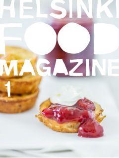 Helsinki Food Magazine. You can find it in App Store for iPad. #helsinkifoodmagazine #helsinkifoodcompany