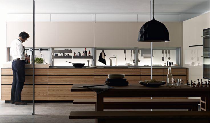valcucine kitchens in melbourne & sydney - contemporary design, Kuchen