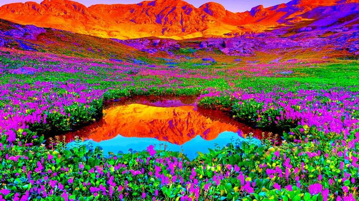 1366x768 Wallpaper for Desktop: mountain