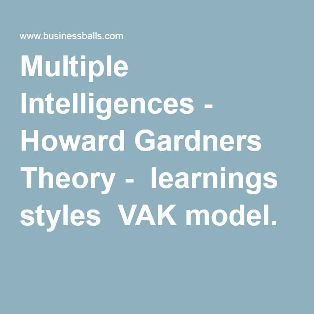 howard gardner theory essay Perfect for acing essays, tests, and quizzes, as well as for writing lesson plans   in the 1980s and 1990s, psychologist howard gardner proposed the idea of.