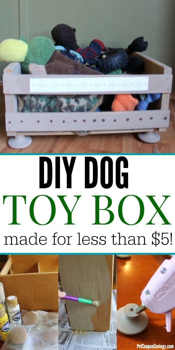 Diy Dog Toy Box A Fun Dog Toy Storage Solution Dog Toy Box