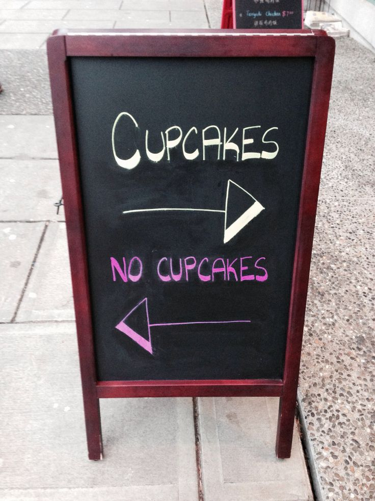this was outside a cupcake shop lol