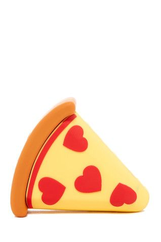 Pizza Emoji Silicone Power Bank Charger