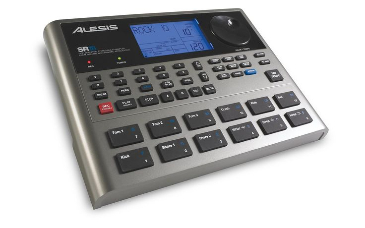 Alesis SR18 | High-Definition Multi-Sampled Electronic Drum Machine with Dynamic Articulation & Effects Engine