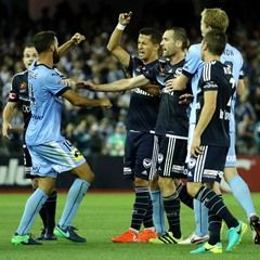 A League Round 17 Melbourne Victory v Sydney FC