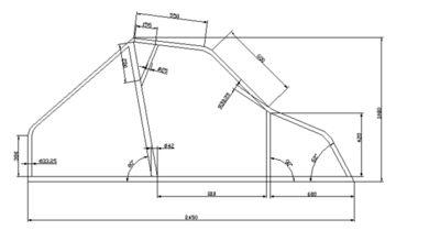 Plans pour construire votre kart cross tubes pinterest cars for Plan b design fabrication inc