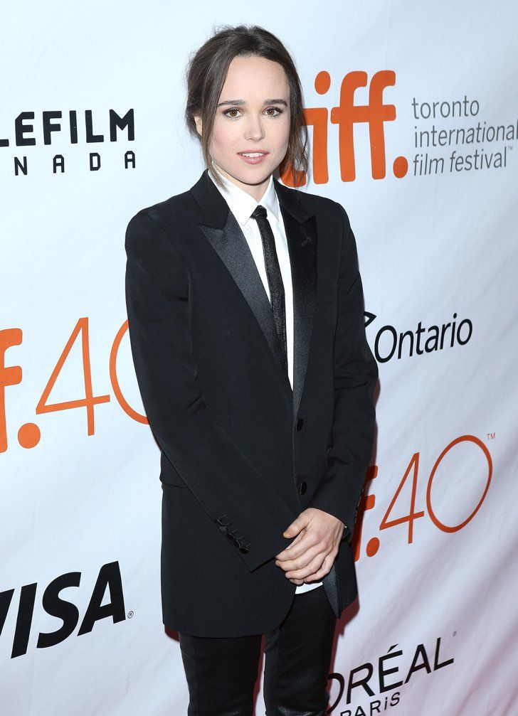 Pin for Later: Ellen Page Makes Her Red Carpet Debut With Her Girlfriend, Samantha Thomas