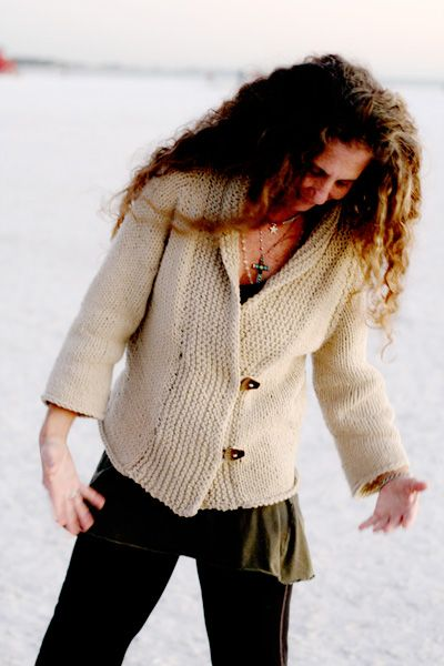 Iced cardigan: Knitty First Fall 2010