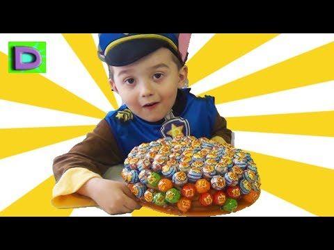 ВРЕДНАЯ ведьма БАБА ЯГА украла конфеты Малыша ЩЕНЯЧИЙ ПАТРУЛЬ НОВЫЕ СЕРИ...