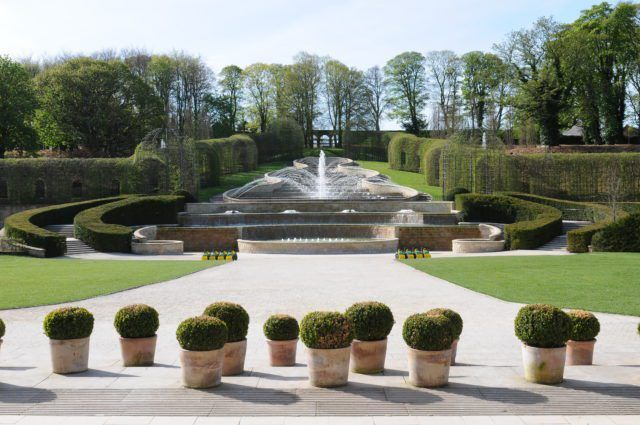 Alnwick Garden in Alnwick, Northumberland