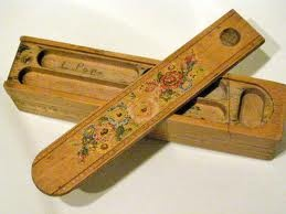 pencil box..I had this handed down to me from my grandmother