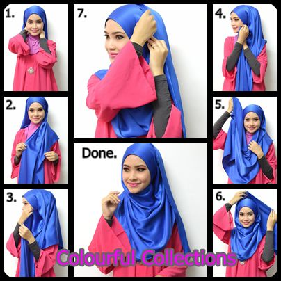 Summer Inspired Hijab Tutorial