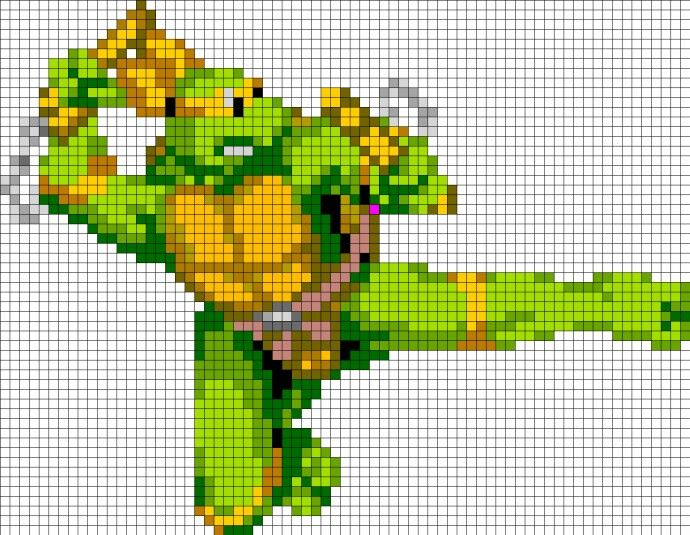 36 Best Cross Stitch Teenage Mutant Ninja Turtles Images