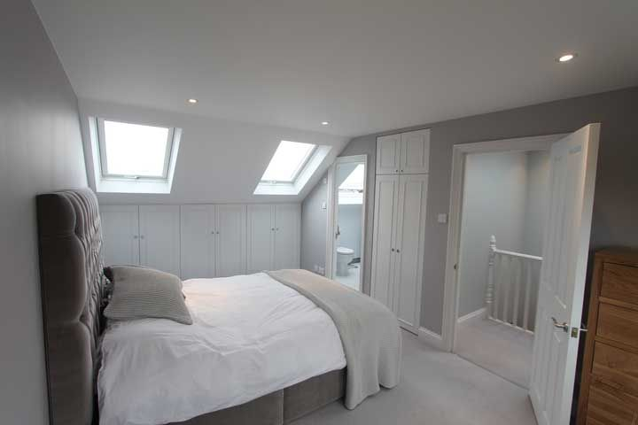 Victorian terrace loft conversion google search attic for Bedroom ideas victorian terrace