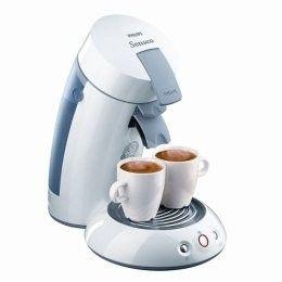 Philips White Senseo... Coffee maker heats water for tea too