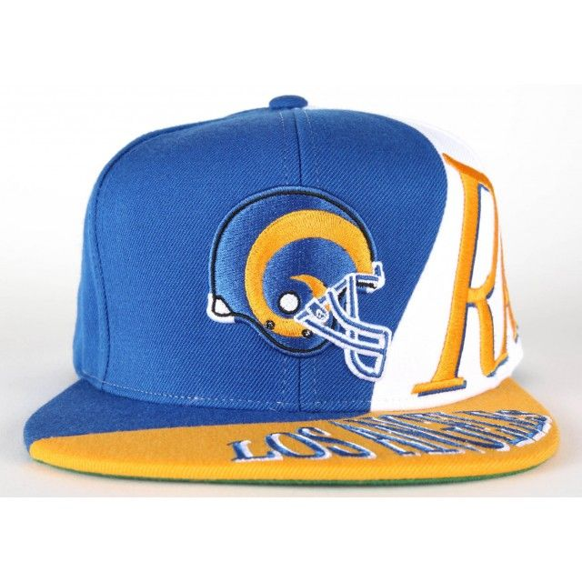 The Skew Snapback Los Angeles Rams …  743f2fd1f57c