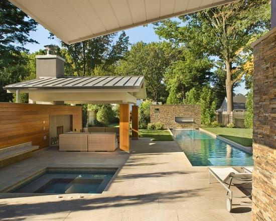 Houzz... | Outdoor living space, Outdoor spa, Outdoor living on Houzz Outdoor Living Spaces id=33026