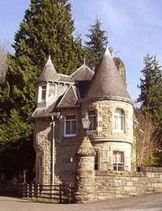 Tiny castle unique buildings pinterest storybook for Small castle home plans