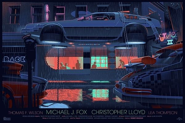 Back to the Future Part II | Illustrator: Laurent Durieux