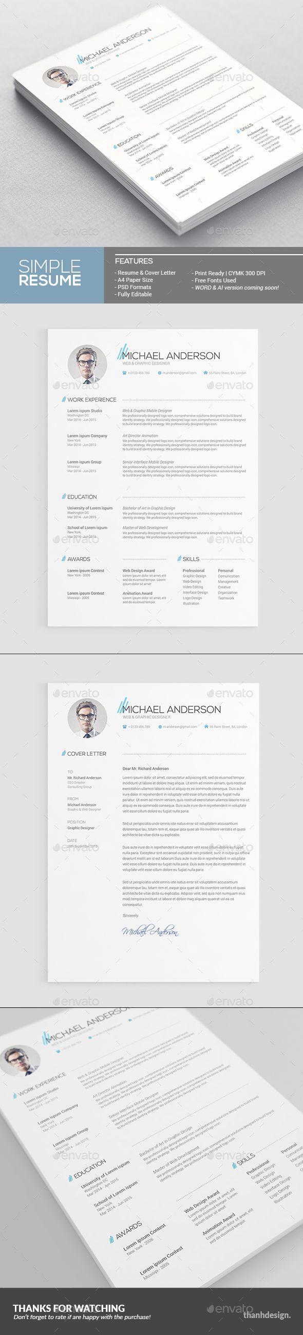 Best Resumes Cv Images On   Resume Design Resume