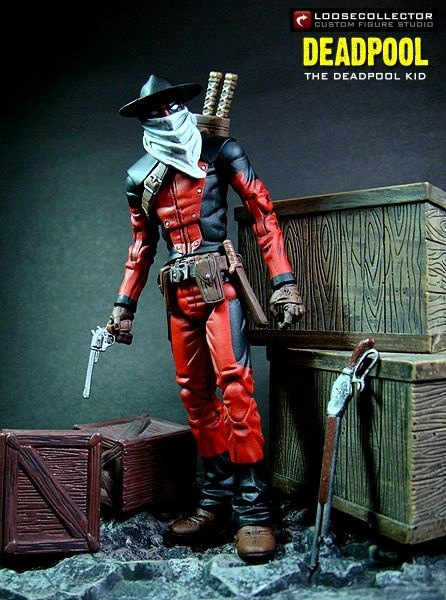 Toycutter Wolverine And Cowboy Deadpool Action Figures