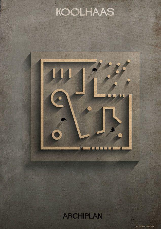Federico Babina's ARCHIPLAN Illustrations Analyze the Floorplans of Master Architects,© Federico Babina
