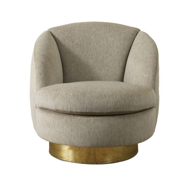 Elegant Swivel Tub Chair by Milo Baughman | From a unique collection of antique and modern club chairs at http://www.1stdibs.com/furniture/seating/club-chairs/