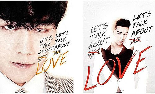 SEUNGRI (BigBang) - Let's Talk About Love (2nd Mini) + GIFT