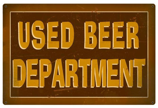 Used Metal Signs : Best images about garage organization on pinterest