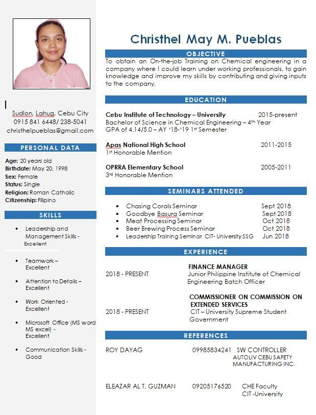 12 Examples Of Resumes Doc Resume Examples Sample Resume Templates Resume