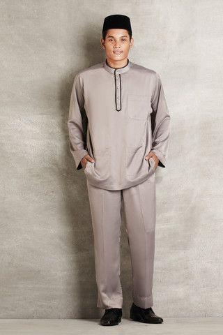 Baju Melayu with Contrast Piping http://www.emelbymelindalooi.com/collections/baju-raya-2014-emel-by-melinda-looi-dd-x-emel
