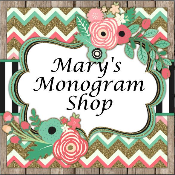 Really love what Marysmonogramshop is doing on Etsy.