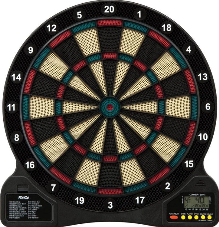 Electronic Dart Board Gameroom Dartboard Bar Game Sports Darts Soft Tip New #FatCat