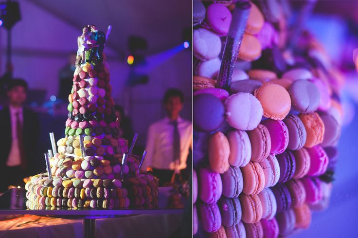 http://www.thesweetside.it #annalisabombarda #annalisabombardaphotography #macaroncake #macarons #colors #weddinginfrance #weddinginprovence #provence #wedding #nice #france #destinationwedding #mariage #weddingcake