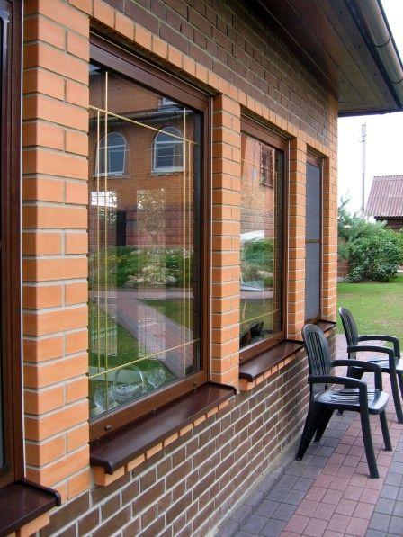 Окна ПВХ: ламинирование профиля и стекол #ламинированные_пластиковые_окна