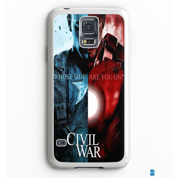 Captain America Civil War Samsung Galaxy S7 Edge Case Aneend