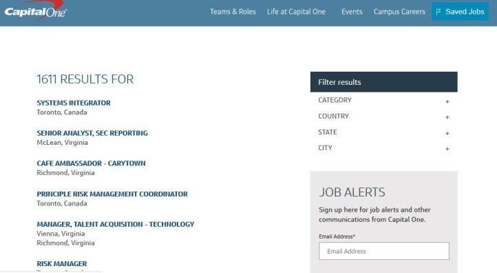 Capital One Job Application Process Coordinator Job Job Application Capital One