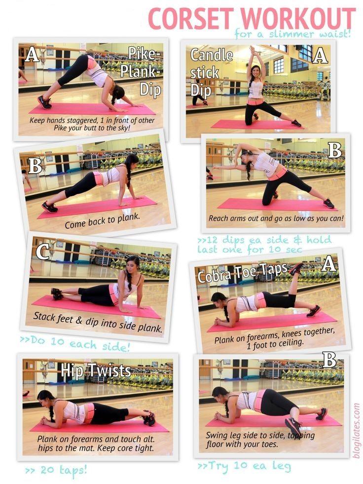 Corset Workout For Slim Waist