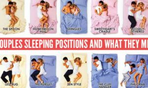 Couple Sleeping Positions And The Meaning.