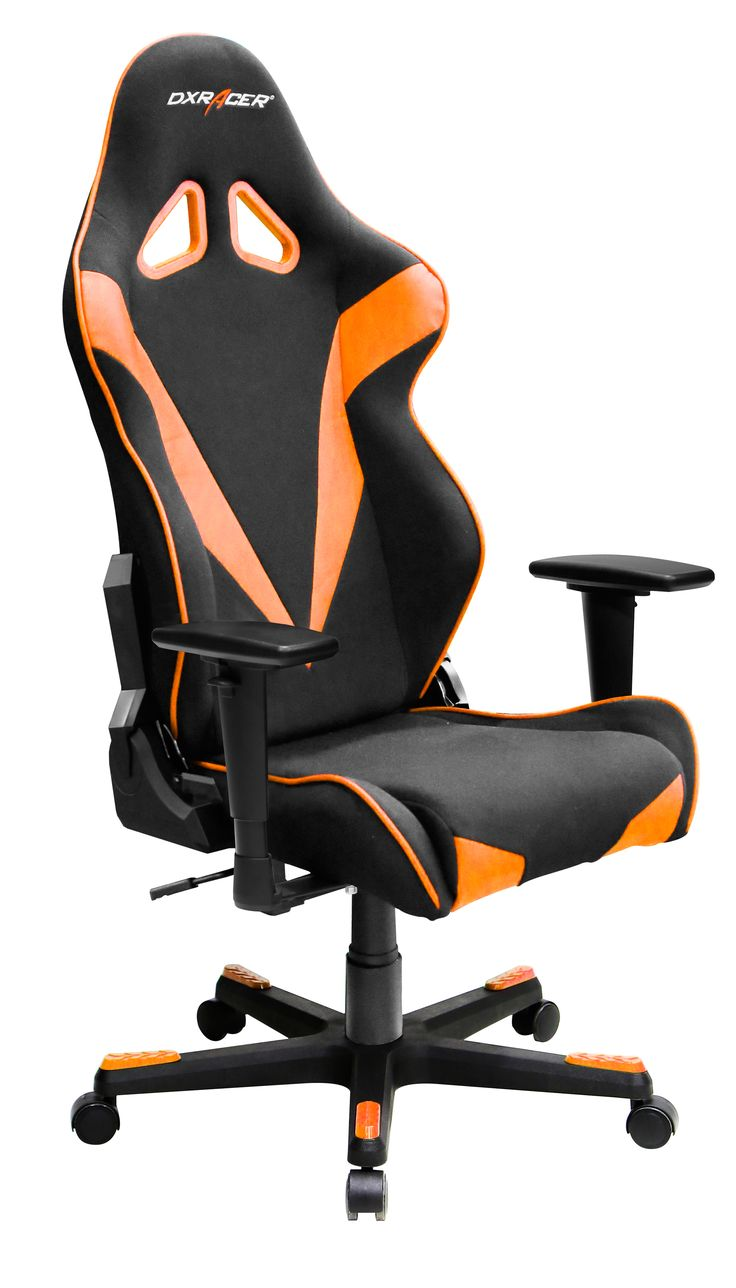 Super comfortable gaming chair - Orange And Black Gamer Chair Dxracer