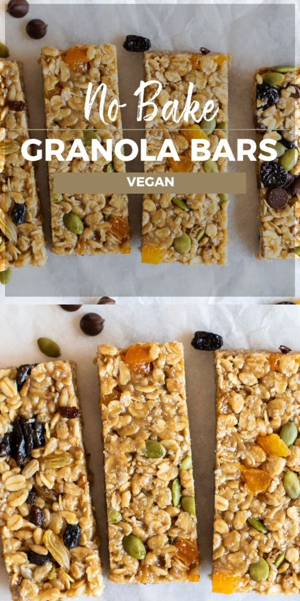 Need healthy vegan snacks to grab and go? These no bake