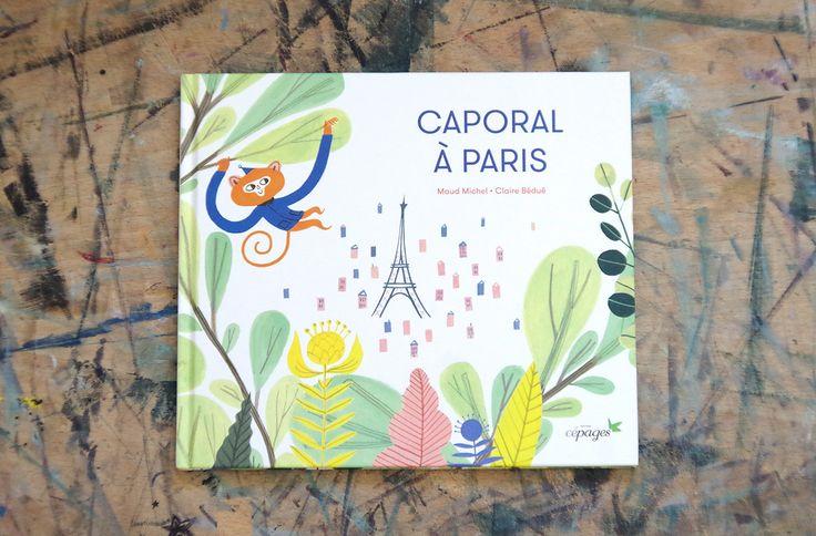 children book Caporal à Paris on Behance