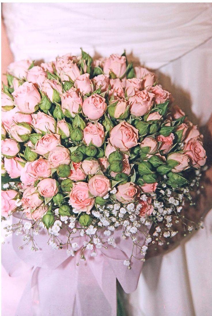 #pink#minion#roses#bridal#bouquet