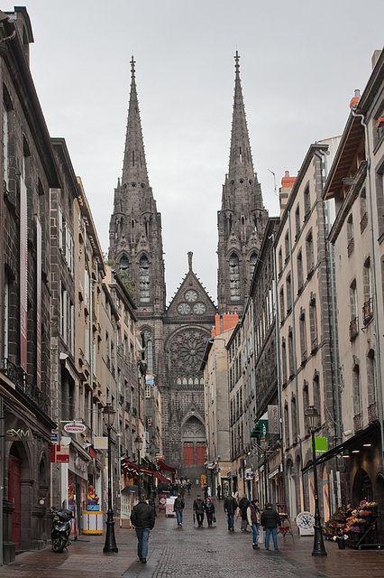 Clermont-Ferrand, Auvergne, France http://www.pinterest.com/adisavoiaditrev/
