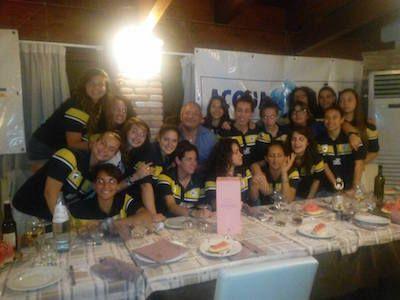 Femminile Pescara, Festa di fine stagione sportiva 2015