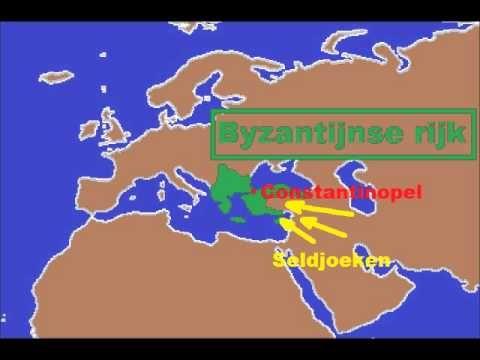 bij les 4: kort filmpje met goede uitleg over De kruistochten - YouTube