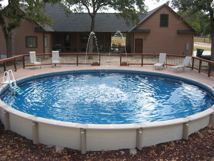 9 Best Above Ground Pools Images On Pinterest Above