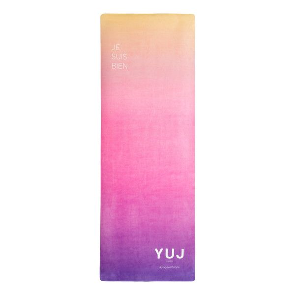 LE SUBLIME TAPIS DE YOGA YUJ en gomme écologique – YUJ - Yoga With Style