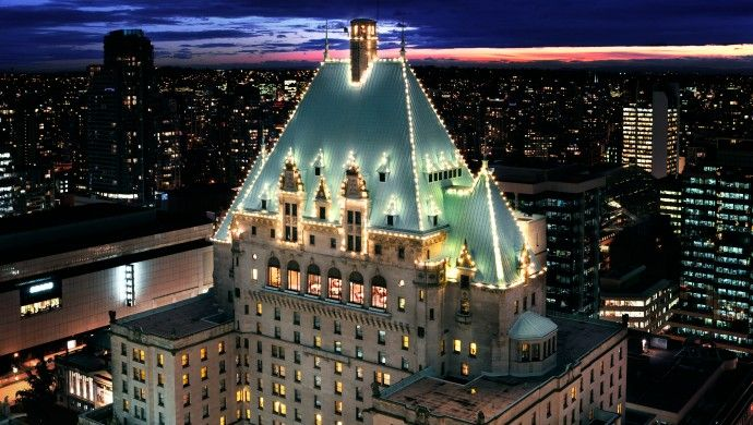 The Fairmont Hotel Vancouver Canada Igottatravel Favorite Places And Es Pinterest Buckets